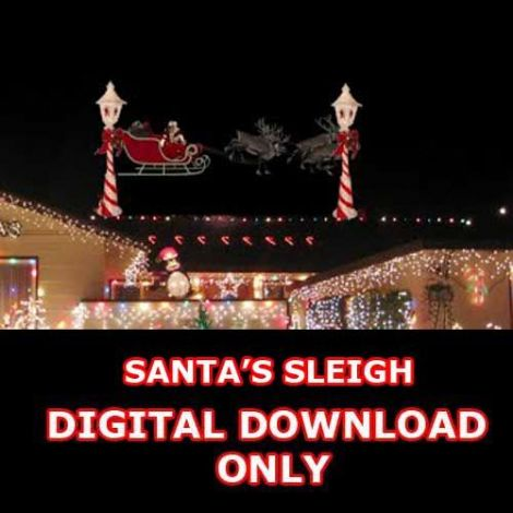 SANTA'S SLEIGH - DIGITAL DOWNLOAD